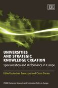 Cover Universities and Strategic Knowledge Creation