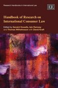 Cover Handbook of Research on International Consumer Law