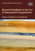 Cover Research Handbook on the Law of International Organizations