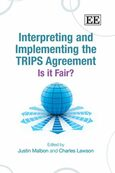 Cover Interpreting and Implementing the TRIPS Agreement