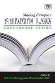 Cover Making European Private Law