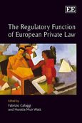 Cover The Regulatory Function of European Private Law