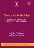 Cover Climate and Trade Policy