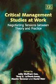 Cover Critical Management Studies at Work