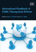 Cover International Handbook of Public Management Reform
