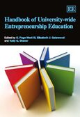 Cover Handbook of University-wide Entrepreneurship Education