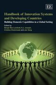 Cover Handbook of Innovation Systems and Developing Countries