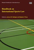 Cover Handbook on International Sports Law