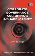 Cover Corporate Governance and China's H-Share Market