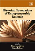 Cover Historical Foundations of Entrepreneurship Research