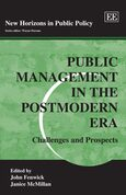 Cover Public Management in the Postmodern Era