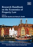 Research Handbook on the Economics of Property Law