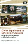 Choice Experiments in Developing Countries