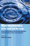 Cover Macroeconomics in the Small and the Large