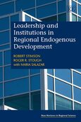 Cover Leadership and Institutions in Regional Endogenous Development