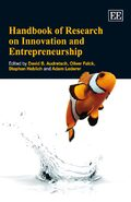 Cover Handbook of Research on Innovation and Entrepreneurship
