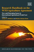 Cover Research Handbook on the WTO Agriculture Agreement