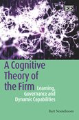 Cover A Cognitive Theory of the Firm