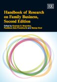Cover Handbook of Research on Family Business, Second Edition