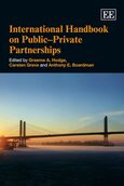 Cover International Handbook on Public–Private Partnerships