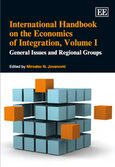 Cover International Handbook on the Economics of Integration, Volume I