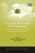 Cover Corporate Governance, Enforcement and Financial Development
