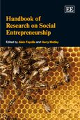 Cover Handbook of Research on Social Entrepreneurship