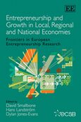 Cover Entrepreneurship and Growth in Local, Regional and National Economies