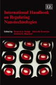 Cover International Handbook on Regulating Nanotechnologies