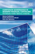 Cover Corporate Governance in Modern Financial Capitalism