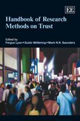 Handbook of Research Methods on Trust