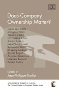 Cover Does Company Ownership Matter?
