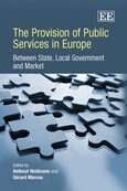Cover The Provision of Public Services in Europe