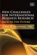 Cover New Challenges for International Business Research
