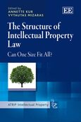 The Structure of Intellectual Property Law