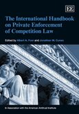 Cover The International Handbook on Private Enforcement of Competition Law