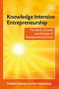 Cover Knowledge Intensive Entrepreneurship