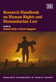 Cover Research Handbook on Human Rights and Humanitarian Law
