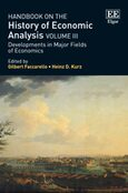 Cover Handbook on the History of Economic Analysis Volume III