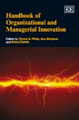 Cover Handbook of Organizational and Managerial Innovation