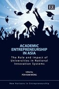 Cover Academic Entrepreneurship in Asia