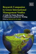 Cover Research Companion to Green International Management Studies
