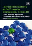 Cover International Handbook on the Economics of Integration, Volume III