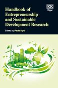 Cover Handbook of Entrepreneurship and Sustainable Development Research