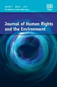 Cover Journal of Human Rights and the Environment