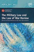 Cover The Military Law and the Law of War Review