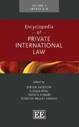 Cover Encyclopedia of Private International Law