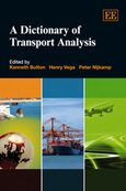 Cover A Dictionary of Transport Analysis