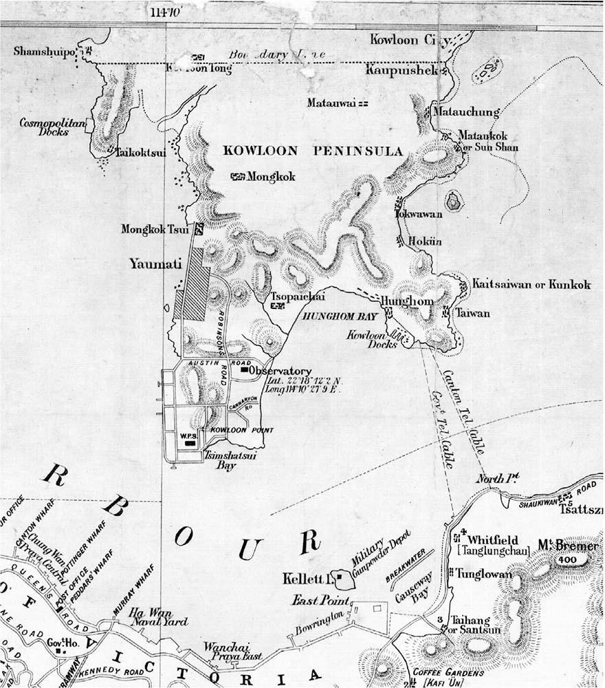 Duality in planning (1841–1898) : Making Hong KongA History