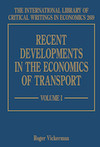 Recent Developments in the Economics of Transport